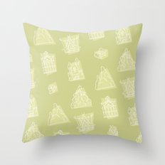 Icons West Throw Pillow