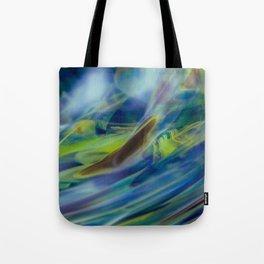 Running Blur Tote Bag