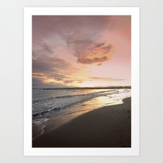 Sunset I Art Print