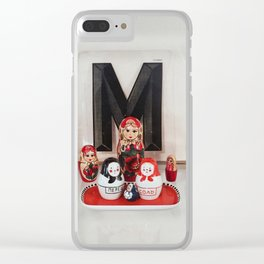 Matryoshka Clear iPhone Case
