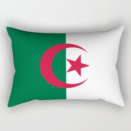 National flag of Algeria - Authentic version (color and scale) Rectangular Pillow