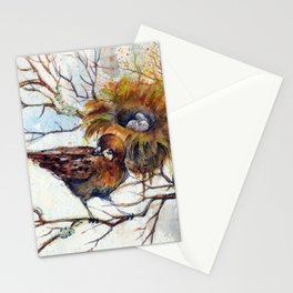 Little Bird Watercolor Stationery Cards