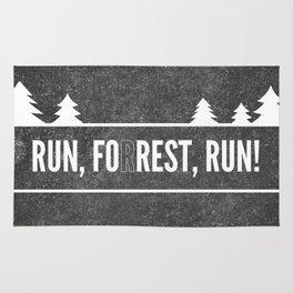 Ru, Fo(r)rest, Run! Rug