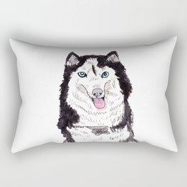 Bowser the Husky Rectangular Pillow