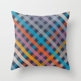 PATTERN color #02 Throw Pillow