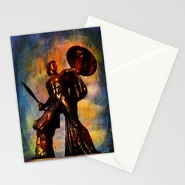 Statue of Achilles in London Hyde Park. Stationery Cards