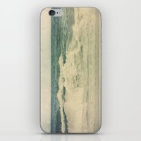salt water iPhone & iPod Skins featuring Salt Water Cures by V. Sanderson / Chickens in the Trees