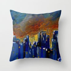 New Year Gift Throw Pillow