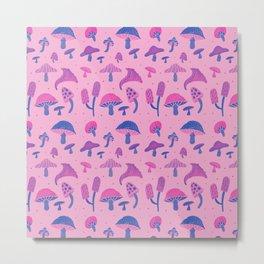 Psychedelic mushrooms Metal Print