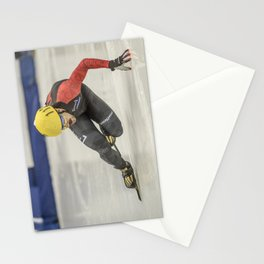 Charles Hamelin, Olympic Champion, Official Action Photo Stationery Cards