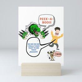 PEEK-a-boo Mini Art Print