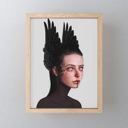 Howl Framed Mini Art Print
