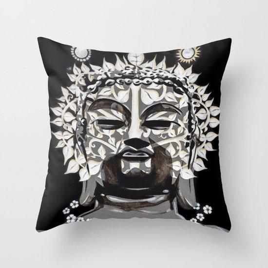 The Bodhi Tree Throw Pillow