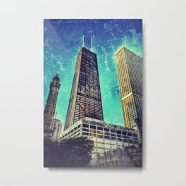 Skyline Metal Print