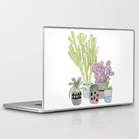 cactus Laptop & iPad Skins featuring Cactus by Olivia James