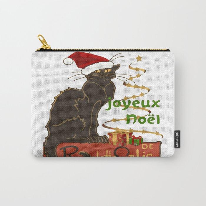 Joyeux Noel Le Chat Noir Christmas Parody Carry-All Pouch