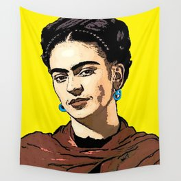 Frida Kahlo Wall Tapestry