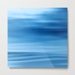 SeascapeBlue - dune Metal Print