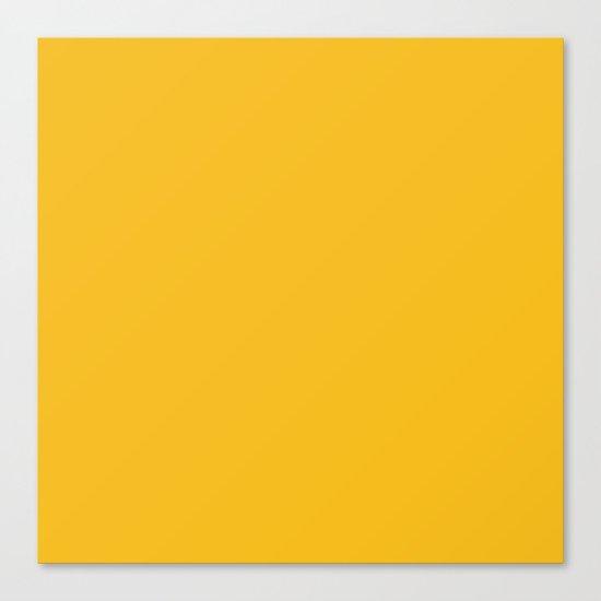 Autumn Yellow Canvas Print