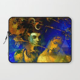 Shiva The Auspicious One - The Hindu God Laptop Sleeve