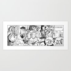 It's the small things...Dishwashing Art Print