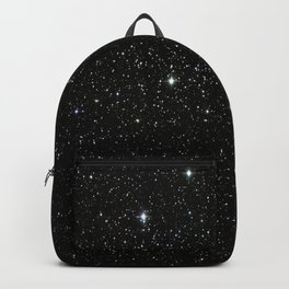 Space - Stars - Starry Night - Black - Universe - Deep Space Rucksack