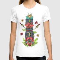 tiki T-shirts featuring Tiki totem by Binnyboo