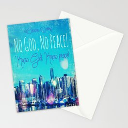 Know God Stationery Cards