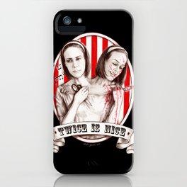 Tattler Twins (edited) iPhone Case