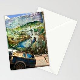 Hidden Mural, Essaouira, Morocco Stationery Cards