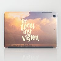 pocketfuel iPad Cases featuring MY VISION by Pocket Fuel