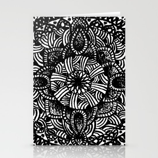 mandala Stationery Cards