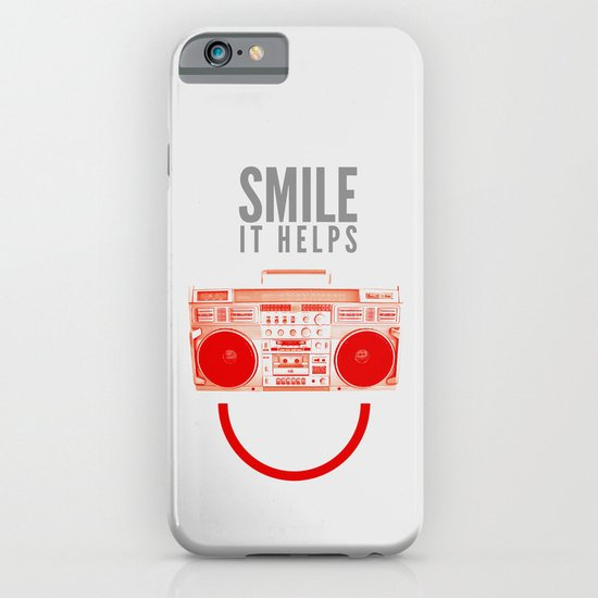 Smile. It Helps. iPhone & iPod Case