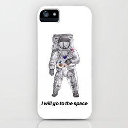 astronaut iPhone Case