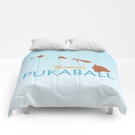 Hawaii Pukaball Comforters