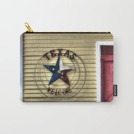 Texas Welcome Carry-All Pouch