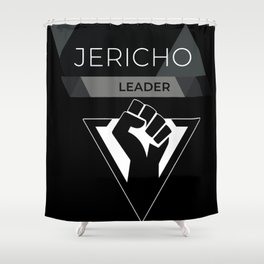 Jericho Leader Shower Curtain