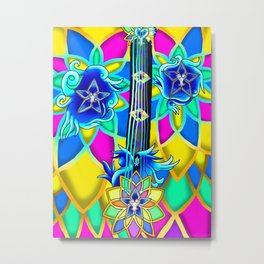 Fusion Keyblade Guitar #154 - Nightmare's End Reality Shift & Brightcrest Metal Print