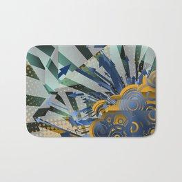 Vector Cubism Bath Mat