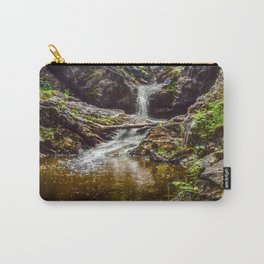 Ducklings swimming at the waterfall Carry-All Pouch