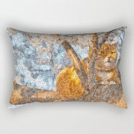 Ginger Cheshire Cat Rectangular Pillow
