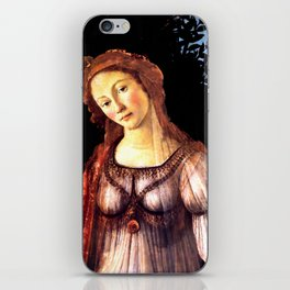 "Sandro Botticelli ""Primavera"" detail iPhone Skin"
