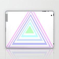 pastel rainbow triangles Laptop & iPad Skin