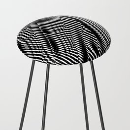 Op Art #1 Counter Stool