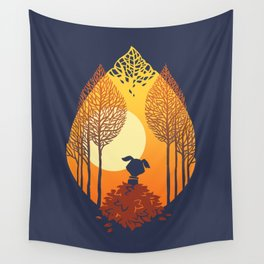 Autumn came Wall Tapestry