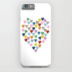 Hearts Heart Slim Case iPhone 6s