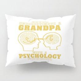Psychology Grandpa Pillow Sham