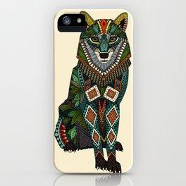 wolf ivory iPhone Case