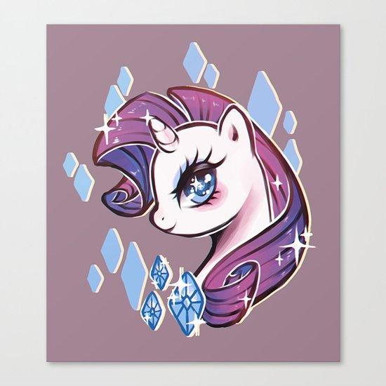 My Little Pony: Rarity Canvas Print