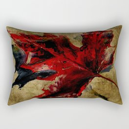 Canadian Maple Leaf Fall Edit  Rectangular Pillow